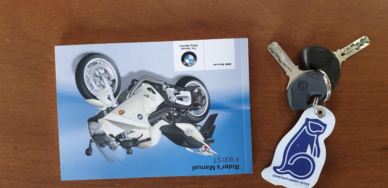 2009 BMW F800 ST